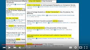 Screenshot from tutorial How (and Why) to Search the APA Thesaurus in PsycINFO