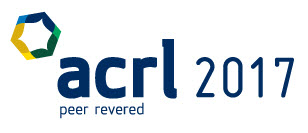 Logo for the ACRL 2017 conference.