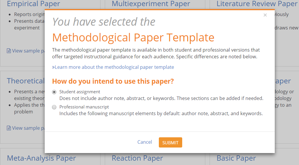 apa style central expert tip adding paper sections apa